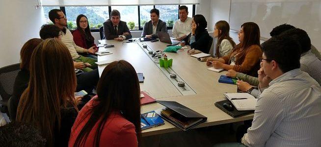 CFC&A recibe a movilizadores en innovación de Bancolombia