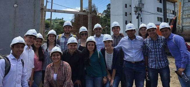 Estudiantes de Ingeniería Civil Unal visitaron obras en Pereira