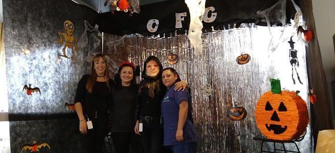 Fotos: Así decoramos para Halloween nuestra sucursal CFC Manizales
