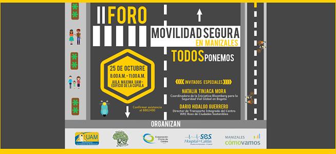 Invitación: Foro de Movilidad Segura