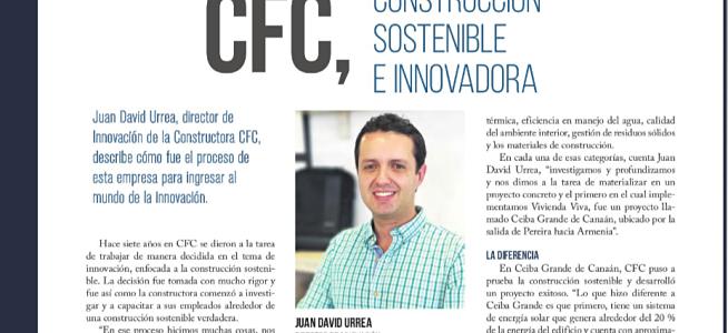 La revista El Diario de Pereira publicó artículo sobre CFC