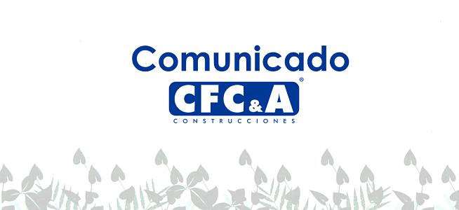 Comunicado 01-2021 – Comité de Crisis CFC: Disposiciones frente a la actual situación de orden público