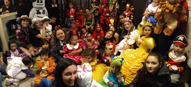 Fotos: Celebración de Halloween para los niños CFC