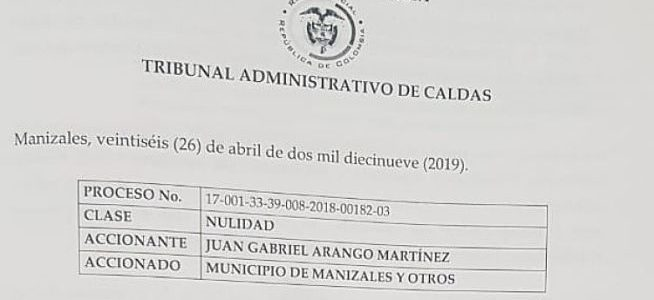 Tribunal se pronunció sobre medidas cautelares de TierraViva