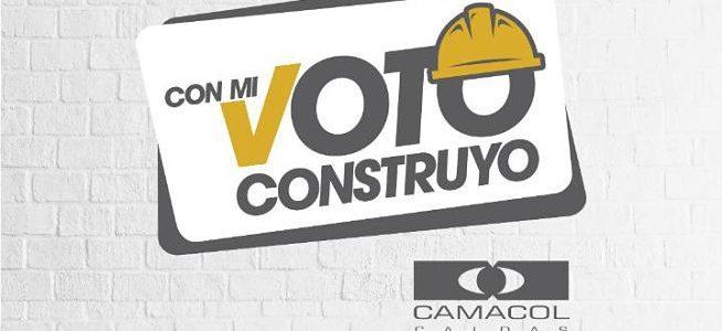Sector de la construcción se une para promover el voto