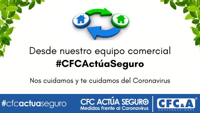 #CFCActúaSeguro equipo comercial: Conoce las medidas