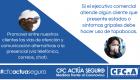 Protocolo prevención equipo comercial