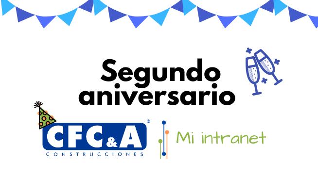 Nuestra Intranet CFC cumple dos años