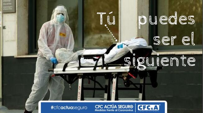 Alerta: No bajes la guardia frente al coronavirus