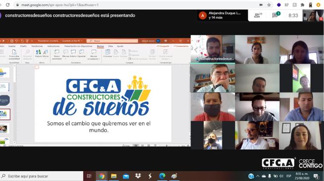 CFC lanzó voluntariado Constructores de Sueños: ¡Anímate!