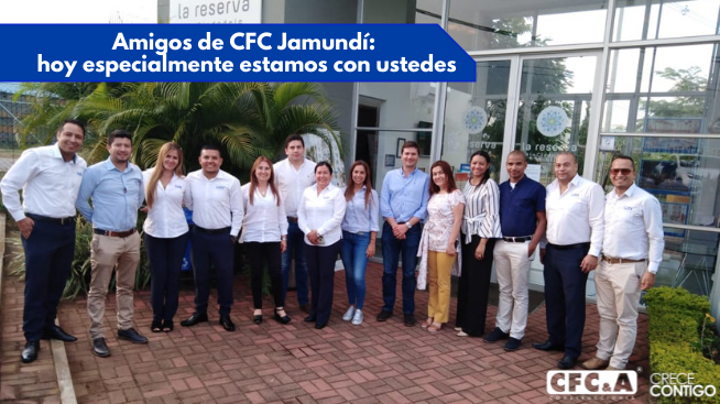 Enviamos nuestro cariño a la oficina CFC Jamundí