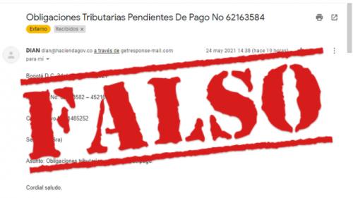 Correos fraudulentos