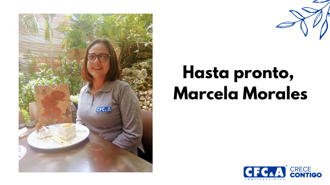 Nos despedimos de Marcela Morales