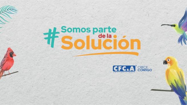 Únete a la campaña #SomosParteDeLaSolución