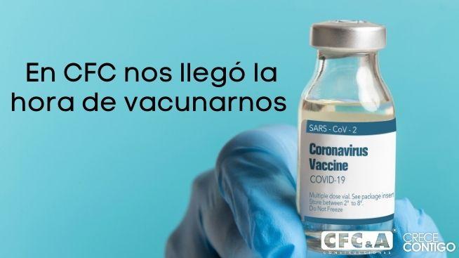 Actualiza tus datos de vacunación de la covid-19