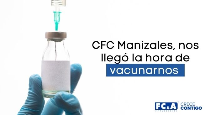 Ten en cuenta los grupos y recomendaciones para la vacunación en Manizales