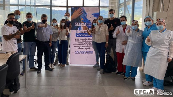 Así fue nuestra jornada de vacunación en Manizales