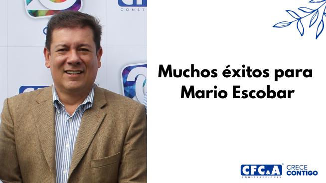 Despedida y agradecimientos a Mario Escobar