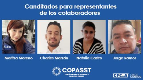Candidatos Copasst 2021