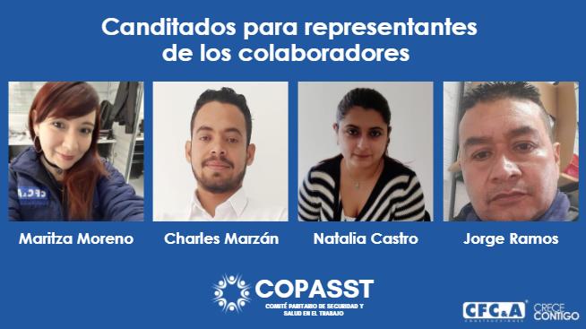 Ya puedes votar por tu representante de colaboradores en el Copasst CFC