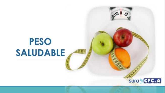 Cuidemos nuestro peso con hábitos saludables