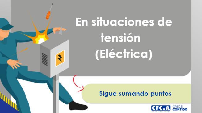 Video 4: Napo en situaciones de tensión (Eléctrica)