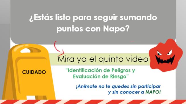 Video 5: Identificación de peligros y evaluación de riesgo