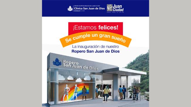 Hoy se inaugura El Ropero Clínica San Juan de Dios, hecho por CFC Ingeniería