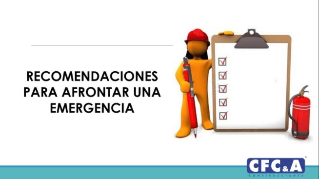 ¿Cómo actuar ante una emergencia? Aquí te contamos
