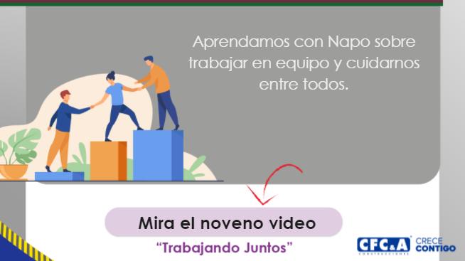 Video 9: Napo en trabajando juntos